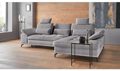Places of Style Ecksofa »Costello«, incl. Sitztiefenverstellung und Armlehnfunktion,... kaufen