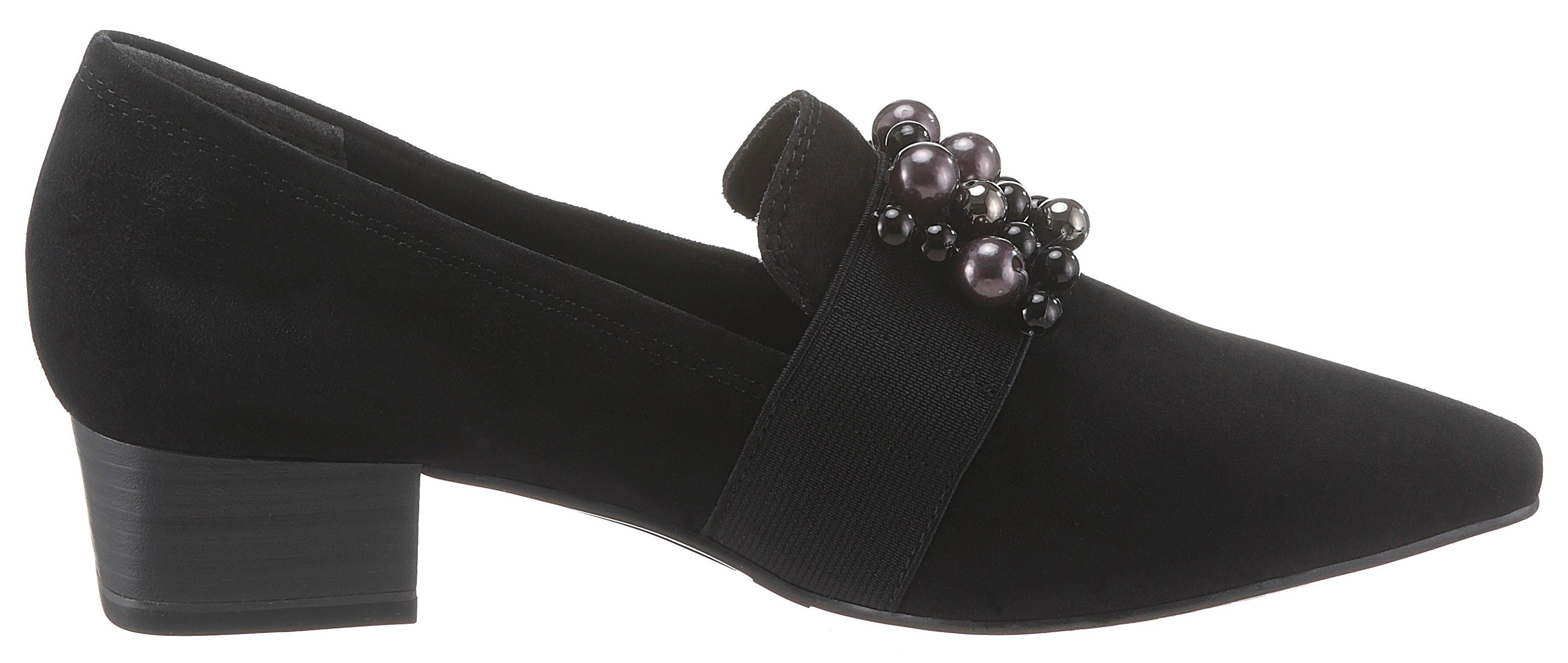 Hochfrontpumps Tamaris Tamaris Tamaris Damenmode Damen Schuhe Pumps Leder 63db1f