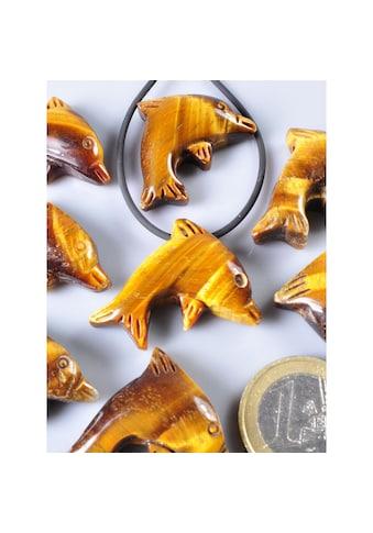 Adelia´s Kettenanhänger »Tigerauge Anhänger Delphin« kaufen