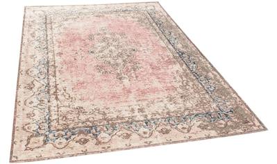 Teppich, »Funky Orient Keshan«, TOM TAILOR, rechteckig, Höhe 5 mm, maschinell gewebt kaufen