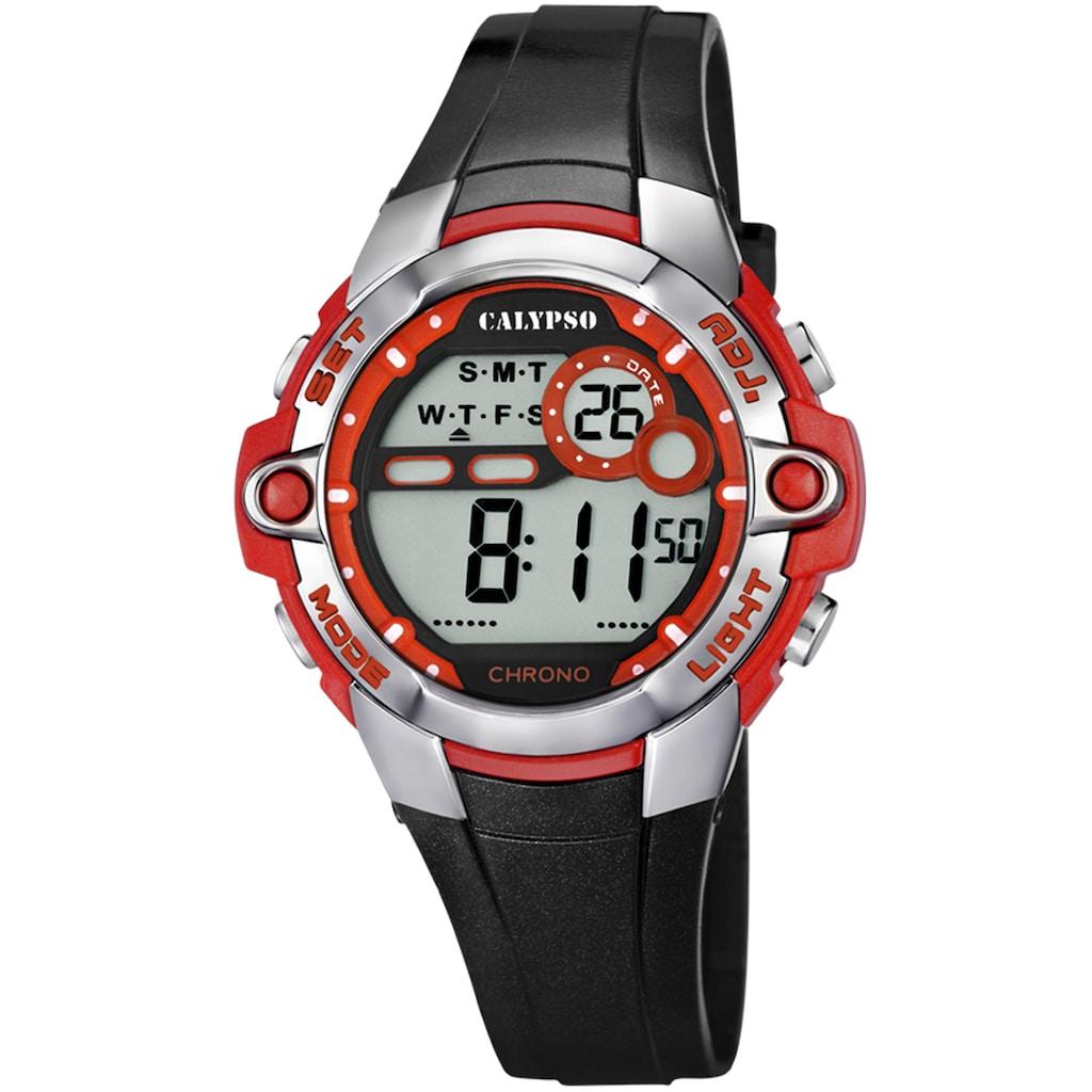 CALYPSO WATCHES Chronograph »Digital Crush, K5617/5«