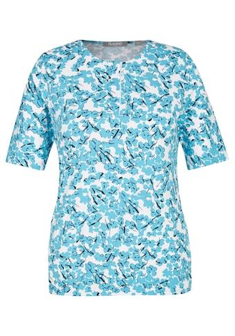 Rabe Rundhalsshirt, mit abstrakten Elementen und Rundhals kaufen