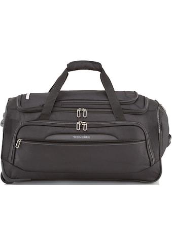 travelite Reisetasche »Crosslite M, 69 cm, schwarz« kaufen