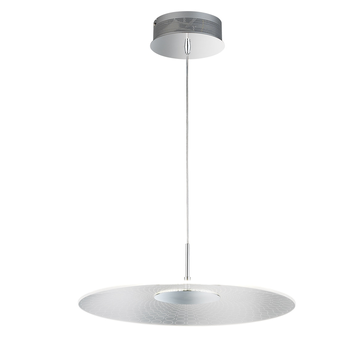 WOFI LED Pendelleuchte Coco, LED-Board, Warmweiß