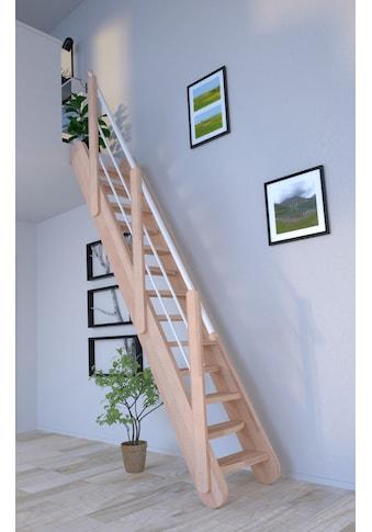 Starwood Raumspartreppe »Massivholz Samos«, Durchgehende Wangenteile kaufen