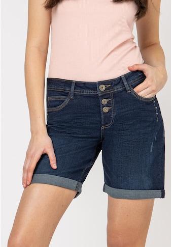 SUBLEVEL Jeansbermudas, mit Aufschlag kaufen