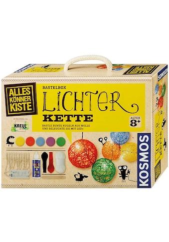 Kosmos Kreativset »AllesKönnerKiste Lichterkette«, (Set), Made in Germany kaufen