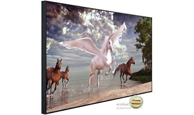 Papermoon Infrarotheizung »Pegasus und Pferde«, sehr angenehme Strahlungswärme kaufen