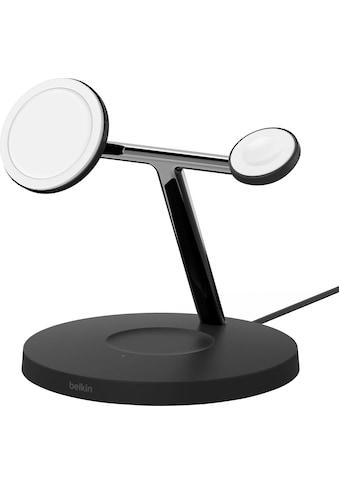 Belkin Ladestation »MagSafe drahtloses 3-in-1-Ladegerät«, Kompatibilität: Apple Watch... kaufen