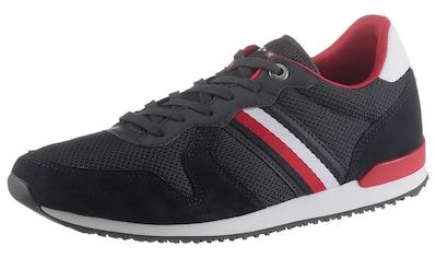 TOMMY HILFIGER Sneaker »ICONIC MATERIAL MIX RUNNER«, mit seitlichen Streifen kaufen