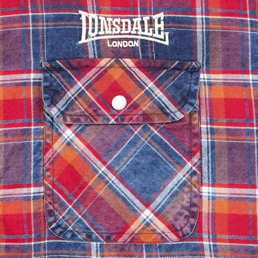 Lonsdale Kurzarmhemd »BOXGROVE«, in kariertem Design