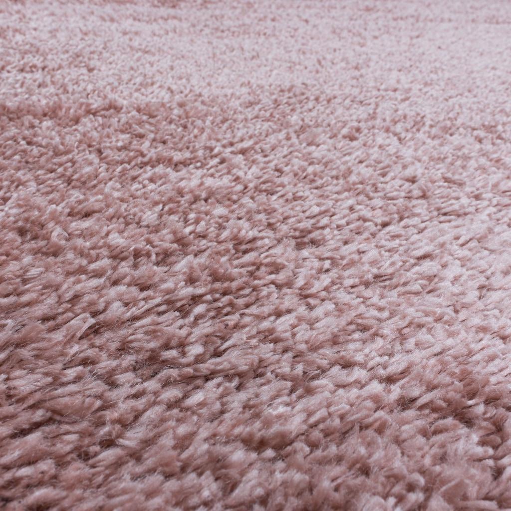 Ayyildiz Hochflor-Teppich »FLUFFY 3500«, rechteckig, 50 mm Höhe, Wohnzimmer