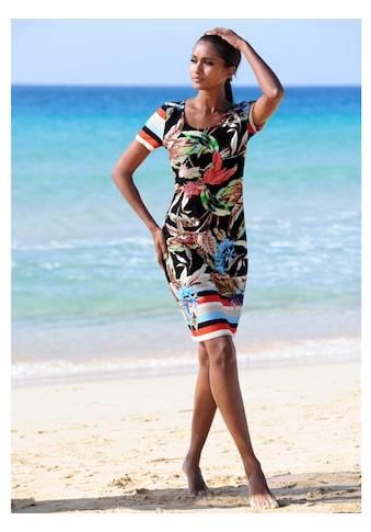 Alba Moda Strandkleid mit Blumendruck kaufen