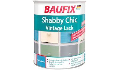 Baufix Acryl-Buntlack »Shabby Chic«, 0,75 Liter, blau kaufen