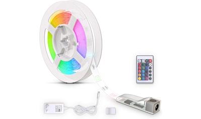 B.K.Licht LED Stripe, LED Band 3m, silikonbeschichtet, RGB, Fernbedienung,... kaufen