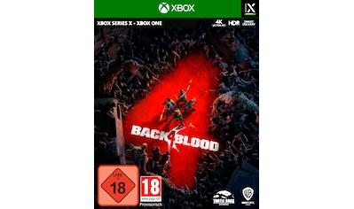 Warner Games Spiel »Back 4 Blood«, Xbox Series X-Xbox One kaufen