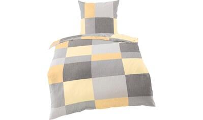 BIERBAUM Bettwäsche »Plain Checkered«, mit Karos kaufen