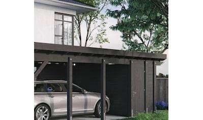 Kiehn - Holz Geräteraum, nur für Carport KH 330/311, versch. Farben kaufen
