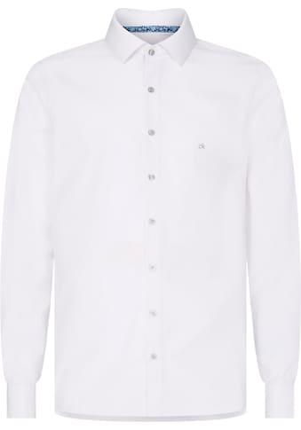 Calvin Klein Businesshemd »CONTRAST FLOWER PRINT SLIM SHIRT« kaufen