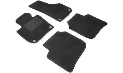 WALSER Passform-Fußmatten »Standard«, (4 St.), für Seat Leon 5-Türer, Leon ST kaufen