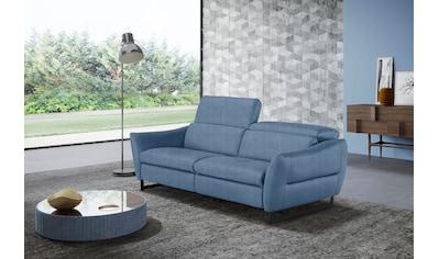 Egoitaliano 2,5-Sitzer »Dafne«, wahlweise mit und ohne elektrischer Relaxfunktion,... kaufen