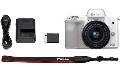 Canon »EOS - M50 EF - M15 - 45 Kit« Systemkamera (EF - M 15 - 45, 24,1 MP, NFC WLAN (Wi - Fi) Bluetooth) kaufen