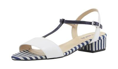 Sandalette im Streifen Dessin kaufen