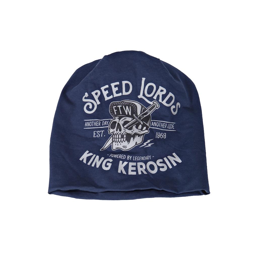 KingKerosin Beanie »Speed Lords«