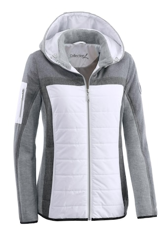Casual Looks Jacke im trendigen Materialmix kaufen