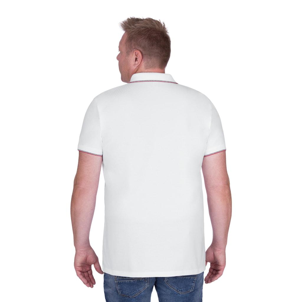 Trigema Poloshirt, mit V-Ausschnitt