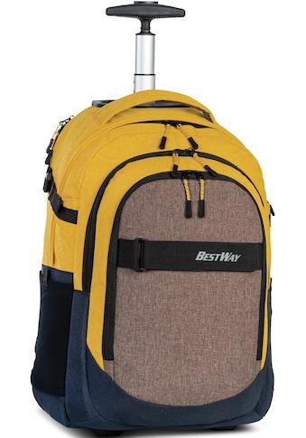 BESTWAY Freizeitrucksack »Evolution Roller, ocker/grau«, mit Trolley-Funktion kaufen