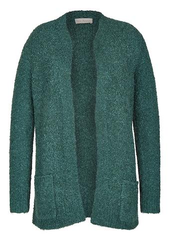 VIA APPIA Aufregender Cardigan mit aufgesetzten Taschen Plus Size kaufen
