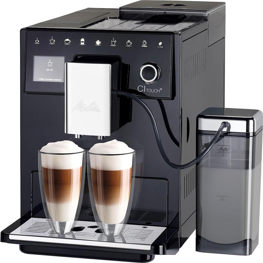 Melitta Kaffeevollautomat »CI Touch® F630-102«, Vielfältiger Kaffeegenuss durch insgesamt 10 Kaffeevariationen