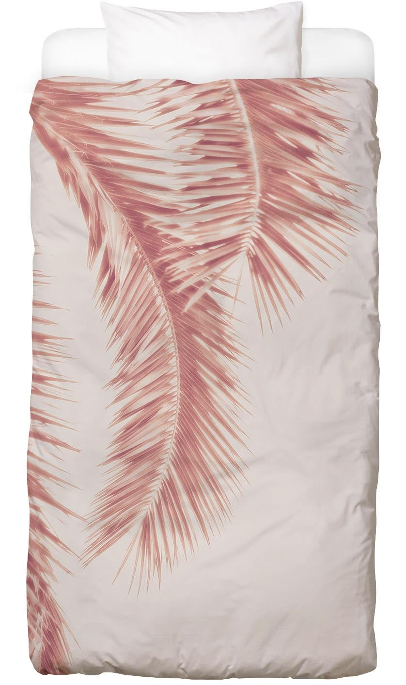 Bettwäsche Rose Palm Leaves Juniqe