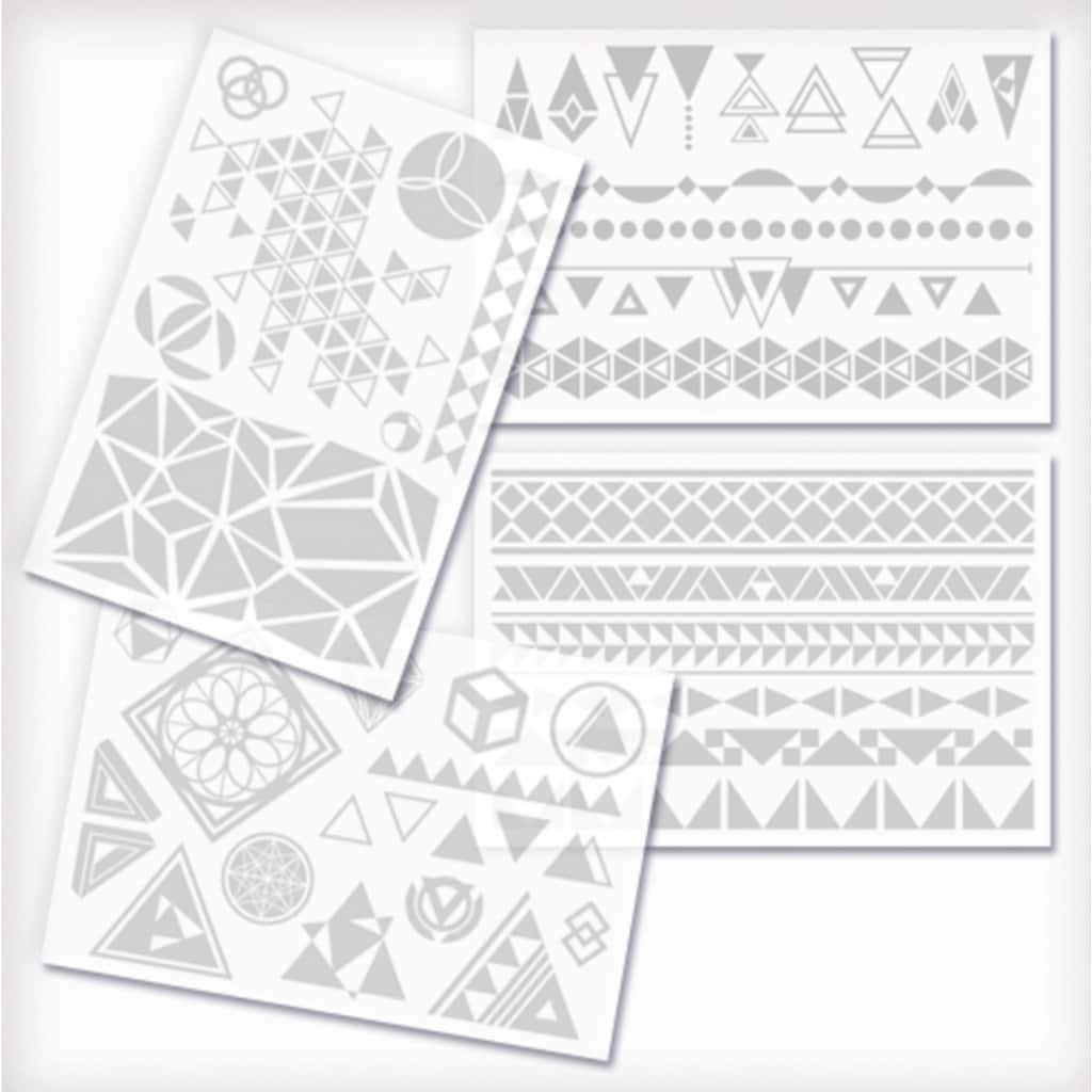 Knorrtoys® Kreativset »GLITZA FASHION Deluxe Set Crazy Geometry«, (Set), Verpackung in BuchformVerpackung in Buchform