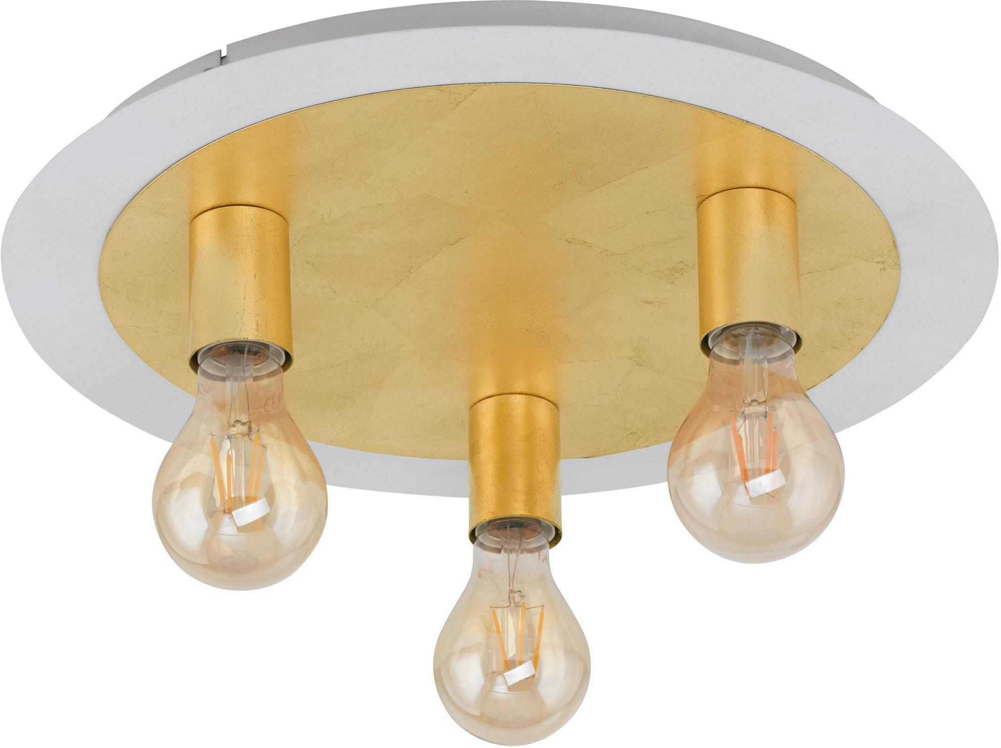 EGLO Deckenleuchte PASSANO, E27, Warmweiß, Deckenlampe