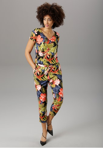 Aniston SELECTED Jumpsuit, im Jungle-Print - NEUE KOLLEKTION kaufen