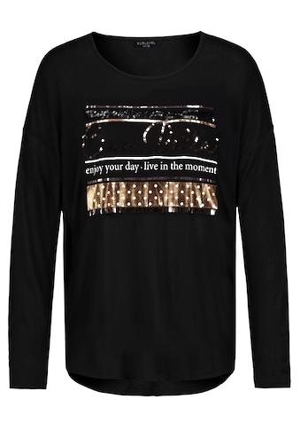 SUBLEVEL Langarmshirt, mit Pailletten kaufen