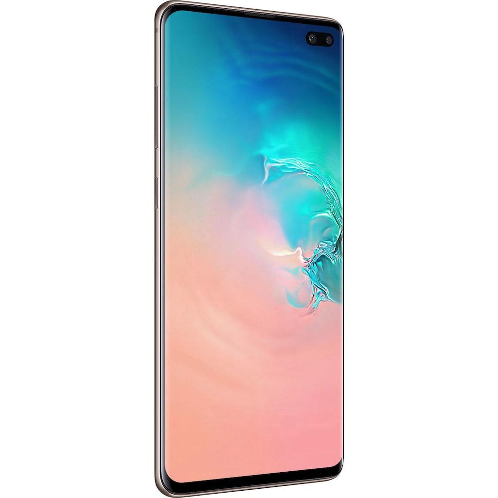 "Samsung Smartphone »Galaxy S10+ - 1 TB«, (16,35 cm/6,4 "" 1024 GB Speicherplatz, 12 MP Kamera)"