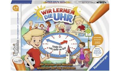 """Ravensburger Spiel, """"tiptoi® Wir lernen die Uhr"""" kaufen"""