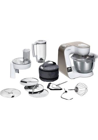 BOSCH Küchenmaschine MUM5 scale MUM5XW20 mit integrierter Waage, 1000 Watt, Schüssel 3,9 Liter kaufen
