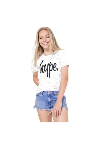 Hype T - Shirt »Mädchen Aop mit Sprenkelmuster« kaufen
