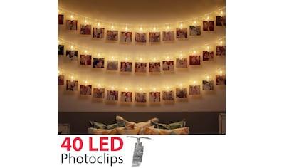B.K.Licht LED - Lichterkette »Rana«, 40  - flammig kaufen