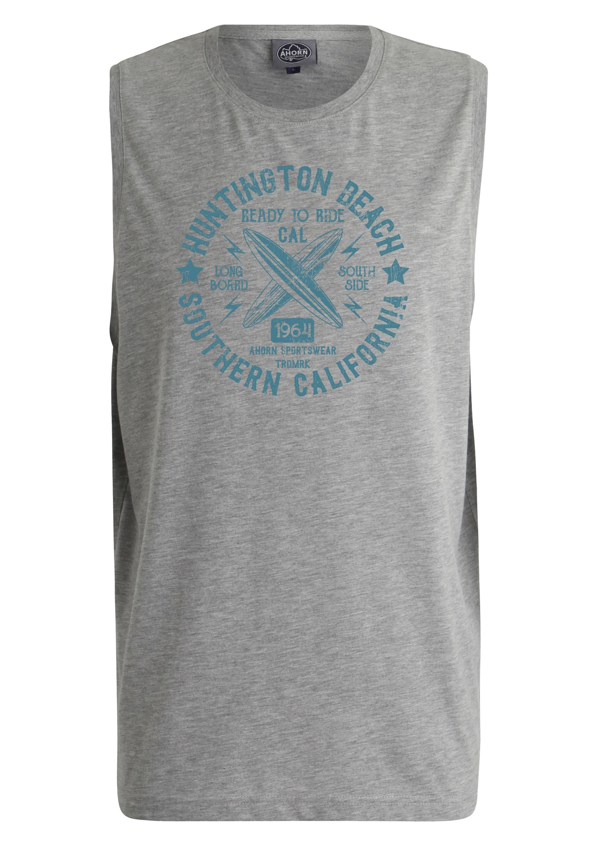 ahorn sportswear -  Tanktop mit Surfer-Print
