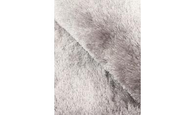 Hochflor - Teppich, »Breeze«, carpetfine, rund, Höhe 45 mm, handgetuftet kaufen