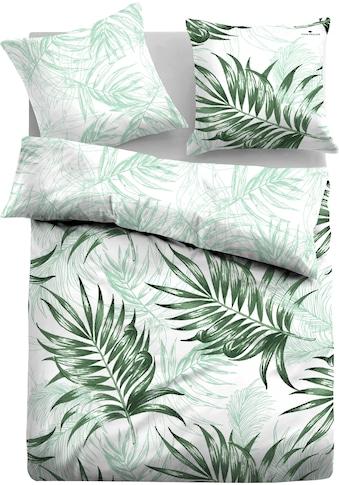 TOM TAILOR Wendebettwäsche »Emmy«, mit tollen Palmenblättern kaufen