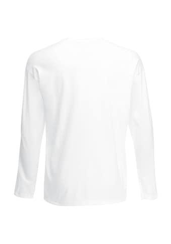 Fruit of the Loom Longsleeve »Herren Langarm T-Shirt mit Rundhalsausschnitt« kaufen