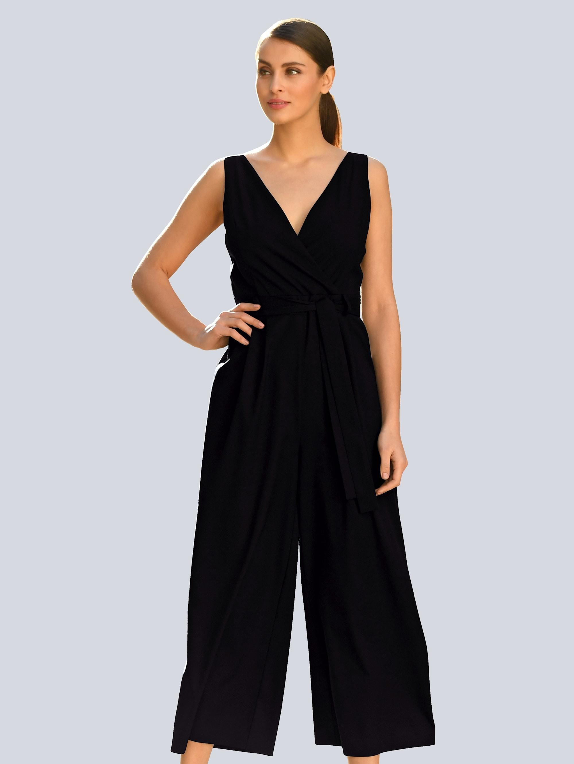 alba moda -  Jumpsuit, in modischer Wickeloptik