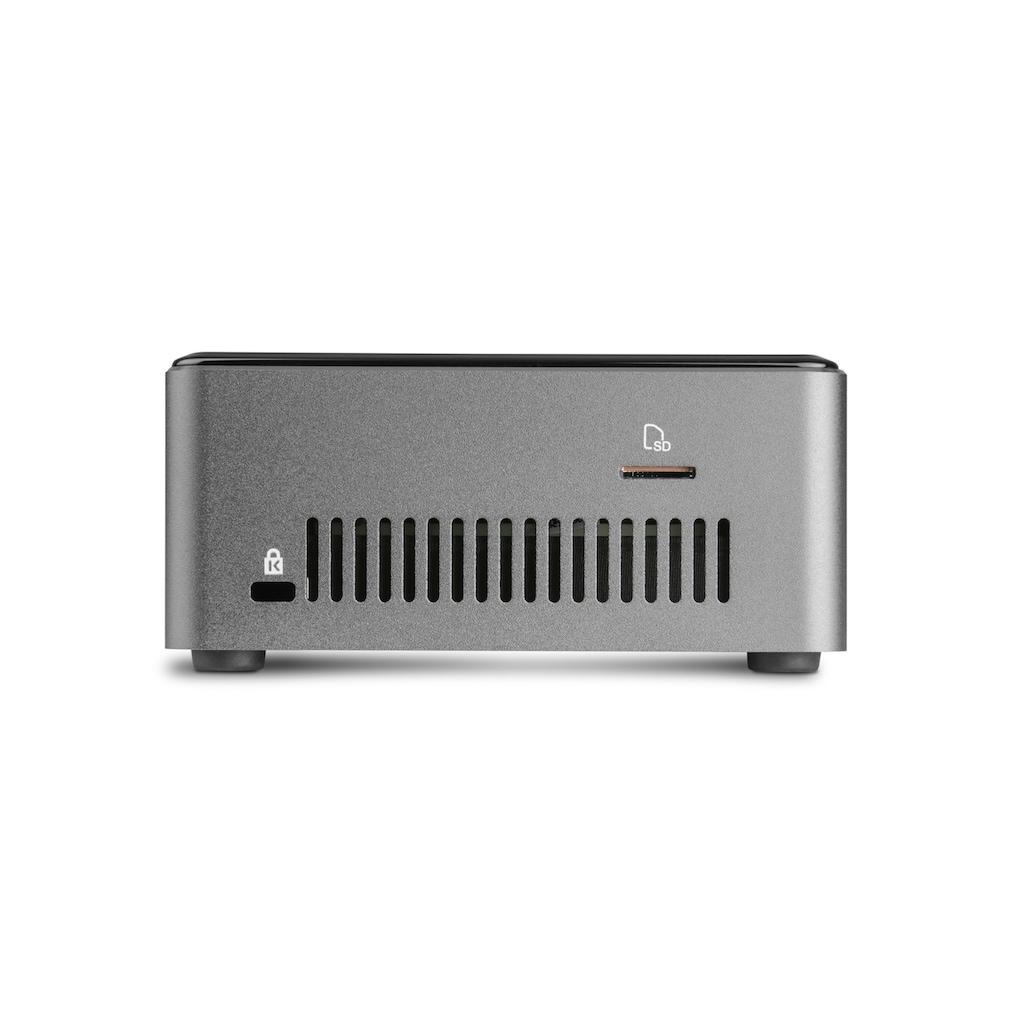 CSL »Intel NUC i3-8109U Windows 10« Mini-PC (Intel, Core i3, Iris Graphics)