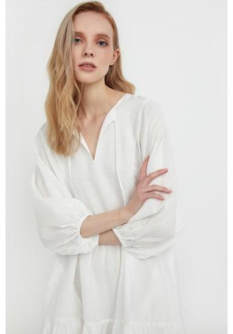 Finn Flare Jerseykleid, mit ausgestelltem Schnitt kaufen